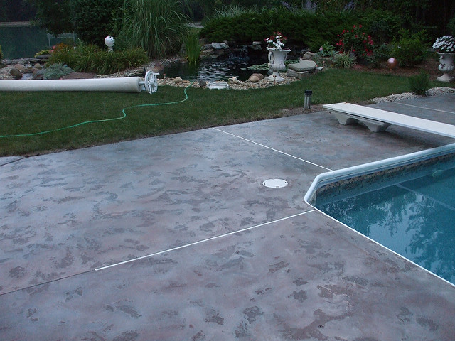 Decorative Pool Decks Marshalltown, Iowa