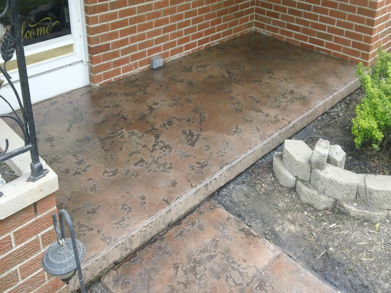 Tuscan Slate Concrete | Waterloo, Iowa